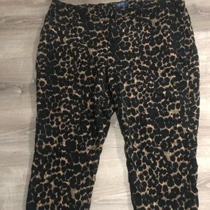 Size 20 tall - ankle leopard pants